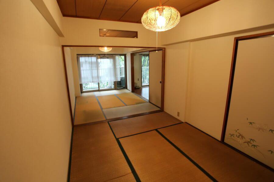 6畳の和室の壁を撤去する