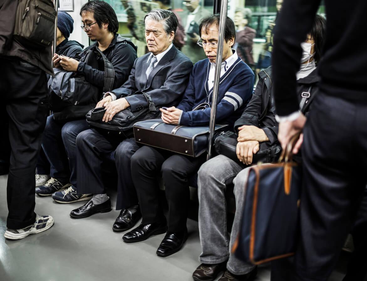 Tokyo subway Japan