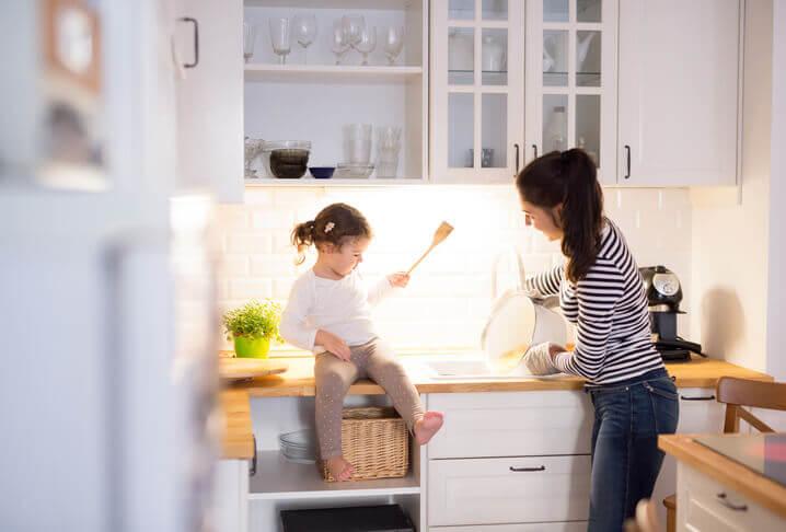 キッチンは女性の場所
